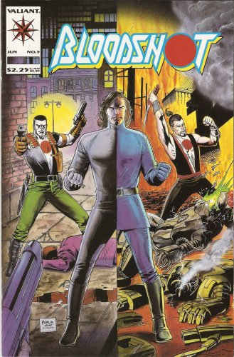 Bloodshot #5 June 1993 Comic Book