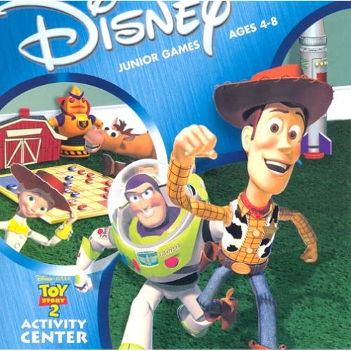 Toy Story 1 Games : Disney pixar s toy story activity center software