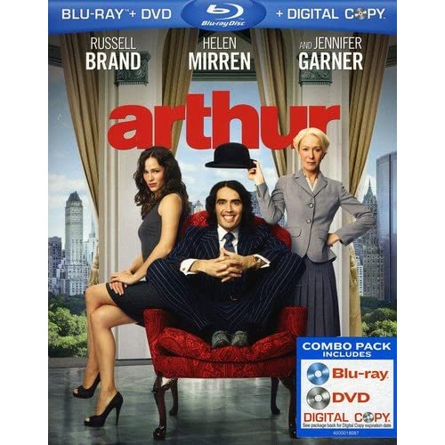 Arthur Blu-Ray On Blu-Ray With Russell Brand Comedy