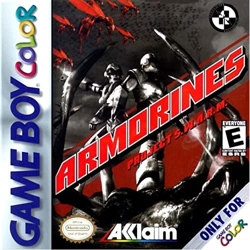 Armorines: Project Swarm On Gameboy Color