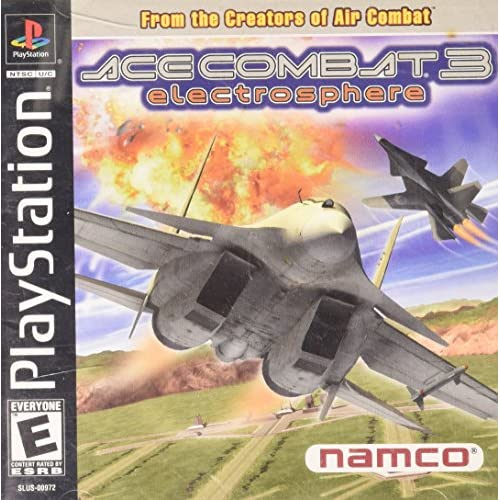 Ace Combat 3 Electrosphere For PlayStation 1 PS1
