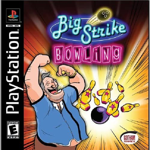 Big Strike Bowling PlayStation For PlayStation 1 PS1
