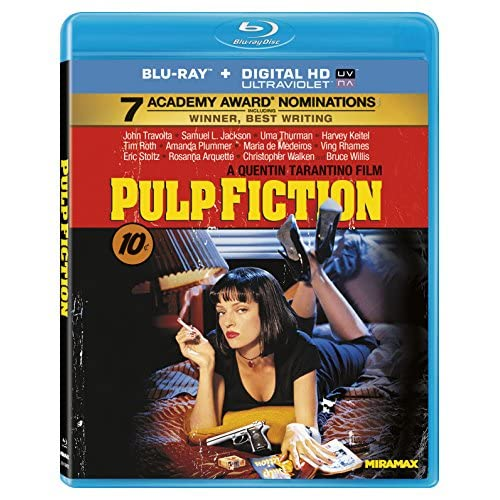 Image 0 of Pulp Fiction Blu-Ray On Blu-Ray With John Travolta
