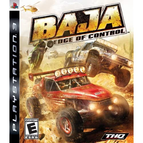Baja: Edge Of Control For PlayStation 3 PS3 Racing