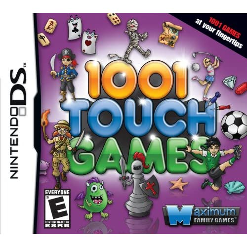 1001 Touch Games For Nintendo DS DSi 3DS Minigames
