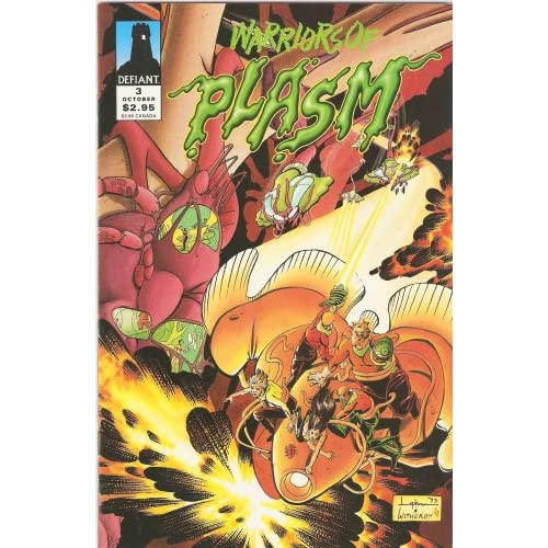 Warriors Of Plasm #3 Ordeal: The Sedition Agenda Part 3 Comic Book