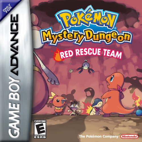 Image 0 of Pokemon Mystery Dungeon Red Rescue Team For GBA Gameboy Advance RPG