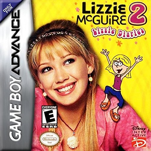 Image 0 of Lizzie Mcguire 2 Lizzie Diaries For GBA Gameboy Advance Disney