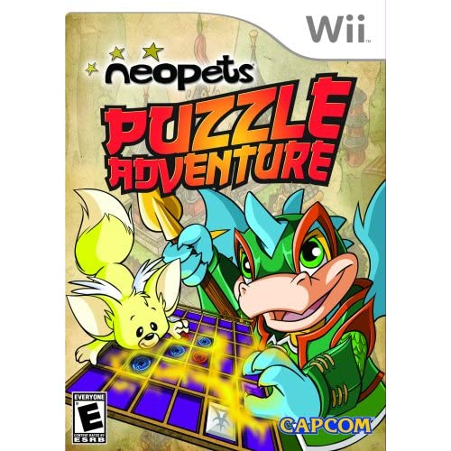 Image 0 of Neopets Puzzle Adventure For Wii And Wii U
