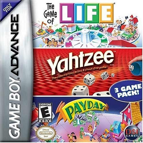 Image 0 of Game Of Life / Yahtzee / Payday For GBA Gameboy Advance Board Games