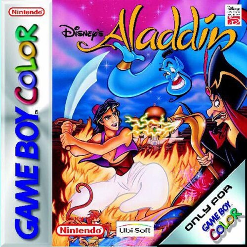Disney's Aladdin GBC On Gameboy Color