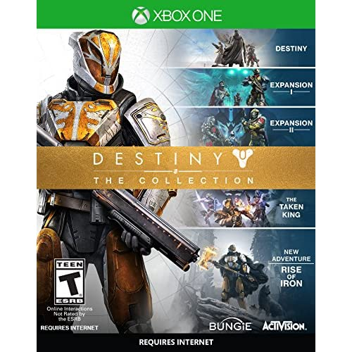 Destiny The Collection Standard Edition For Xbox One Shooter