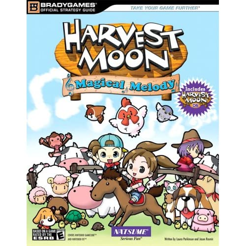 Harvest Moon Magical Melody Official Strategy Guide Bradygames