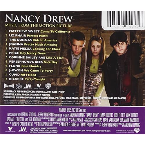 Image 2 of Nancy Drew Music From The Motion Picture By Original Soundtrack
