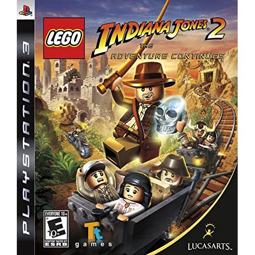 Lego Indiana Jones 2: The Adventure Continues For PlayStation 3 PS3