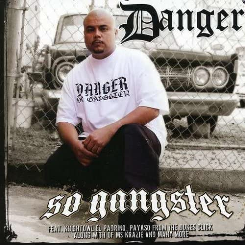 So Gangster By Danger On Audio CD Album 2008
