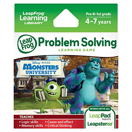 Image 0 of Leapfrog Disney Pixar Monsters University Learning Game Works With LeapPad Table