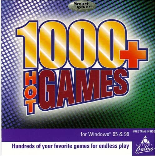 1000 Hot Games PC On Audio CD Album Software