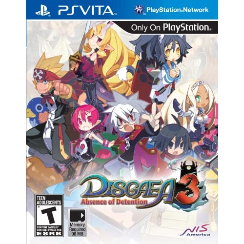 Disgaea 3: Absence Of Detention PlayStation Vita For Ps Vita Strategy