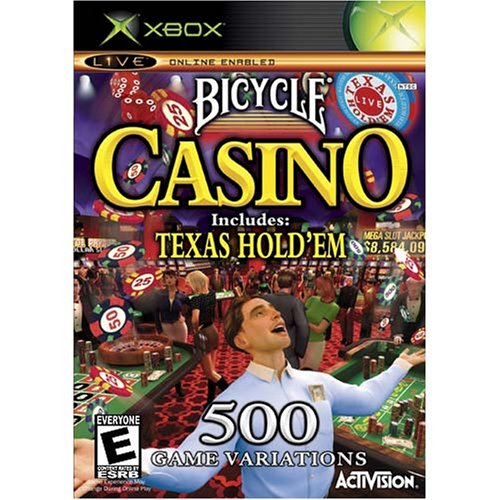 Bicycle Casino 2005 Includes Texas Hold 'Em Xbox For Xbox Original With Manual a