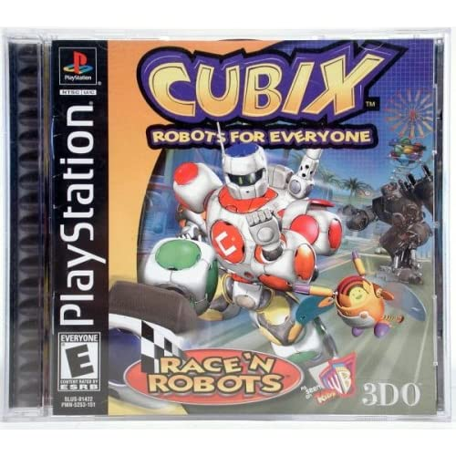 Image 0 of Cubix Robots For Everyone: Race 'N Robots For PlayStation 1 PS1