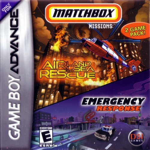 Image 0 of Matchbox Missions For GBA Gameboy Advance Racing