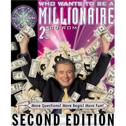 Who Wants To Be A Millionaire 2nd Edition Cd-Rom For PC Software