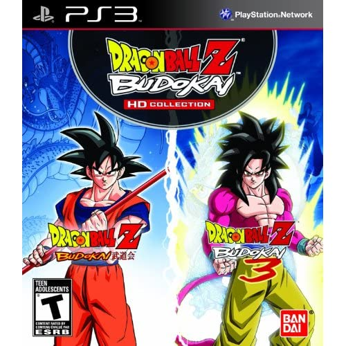 Dragon Ball Z: Budokai HD Collection For PlayStation 3 PS3 Fighting