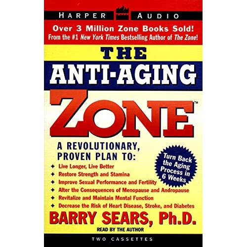 Image 0 of Anti-Aging Zone The By Barry Sears And Barry Sears Reader On Audio Cassette