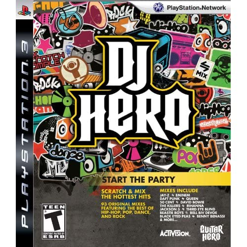 Image 0 of DJ Hero: Start The Party Stand Alone Software For PlayStation 3 PS3 Music