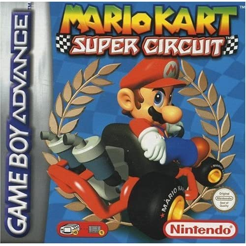 Image 0 of Mario Kart: Super Circuit For GBA Gameboy Advance Racing