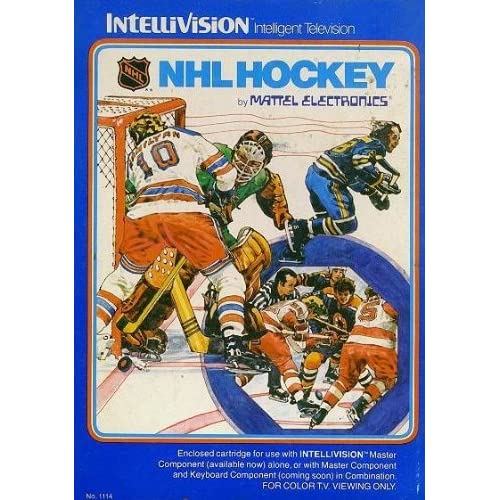 Image 0 of NHL Hockey For Intellivision With Manual And Case