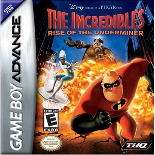 Image 0 of The Incredibles: Rise Of The Underminer For GBA Gameboy Advance Disney