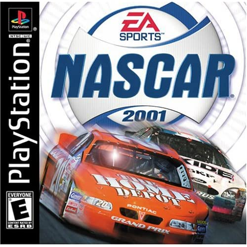 Image 0 of NASCAR 2001 For PlayStation 1 PS1 Racing