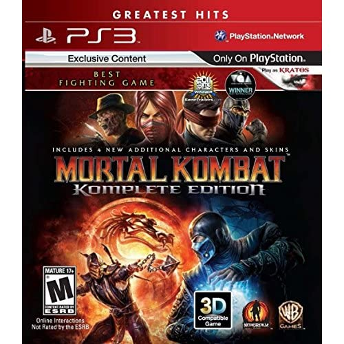 Image 0 of Mortal Kombat: Komplete Edition For PlayStation 3 PS3 Fighting