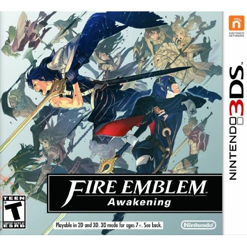 Fire Emblem: Awakening For 3DS With Manual and Case