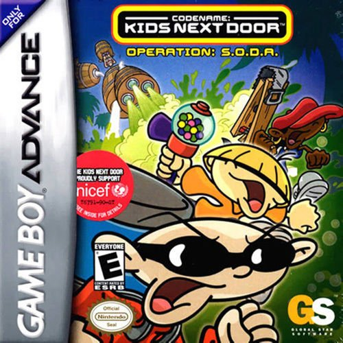 Codename Kid Next Door Operation Soda GBA For GBA Gameboy Advance
