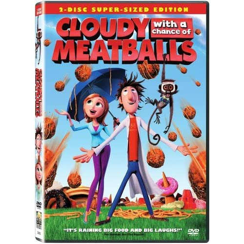 Cloudy With A Chance Of Meatballs Single-Disc Edition On DVD With Bill