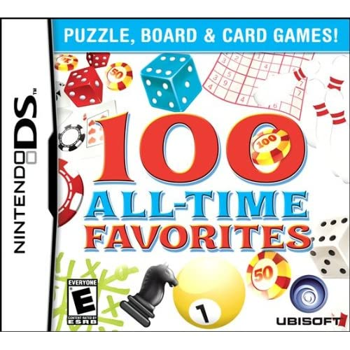 100 All-Time Favorites For Nintendo DS DSi 3DS 2DS Trivia