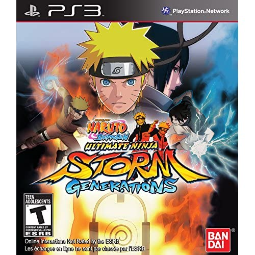 Naruto Shippuden Ultimate Ninja Storm Generations For PlayStation 3 PS3 Fighting