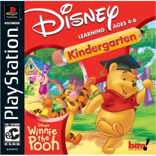 Image 0 of Winnie The Pooh Kindergarten For PlayStation 1 PS1