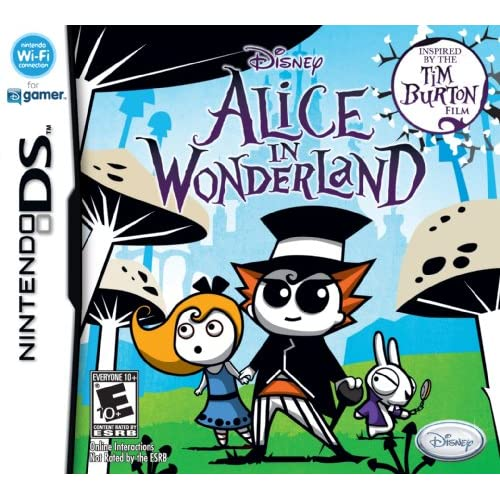 Alice In Wonderland Disney Action For Nintendo DS DSi 3DS 2DS