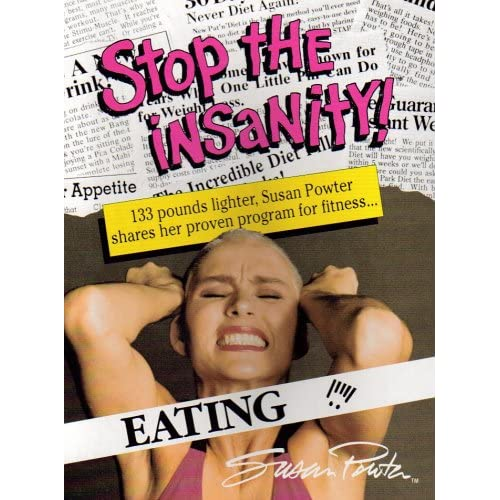 Image 0 of Eating Stop The Insanity! Box Set By Susan Powter On Audio Cassette