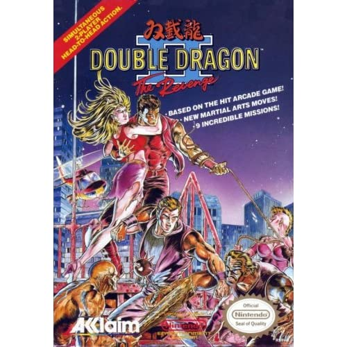 Image 0 of Double Dragon II: The Revenge For Nintendo NES Vintage