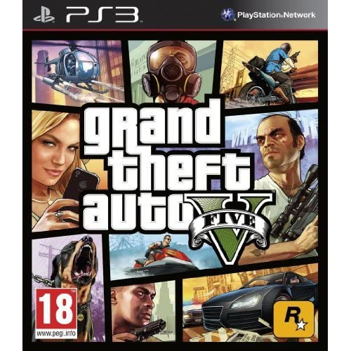 Image 0 of Grand Theft Auto V PS3 GTA 5 For PlayStation 3