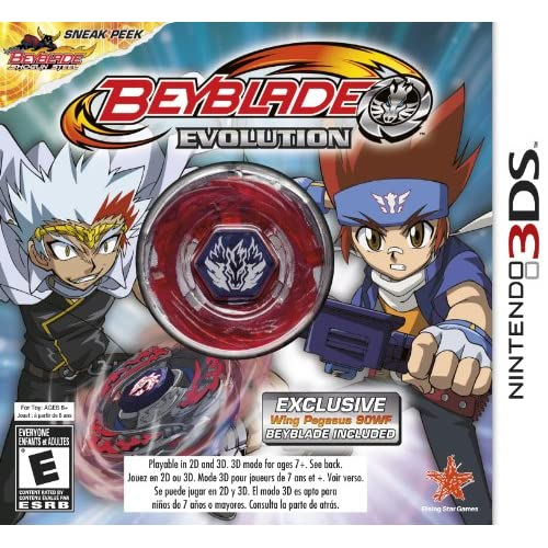 Beyblade: Evolution Edition With Wing Pegasus Nintendo For 3DS
