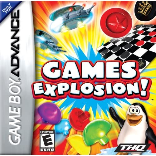Image 0 of Games Explosion For GBA Gameboy Advance Arcade