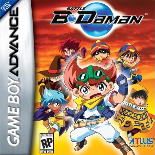 Battle B-Daman For GBA Gameboy Advance