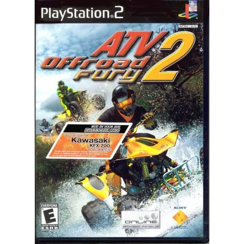 ATV Offroad Fury 2 For PlayStation 2 PS2 Racing With Manual And Case