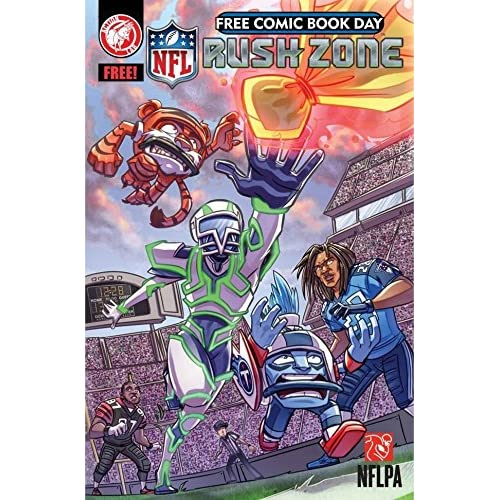 Image 0 of NFL Rush Zone: Fcbd NFL Rush Zone: Season Of The Guardians Comic Book